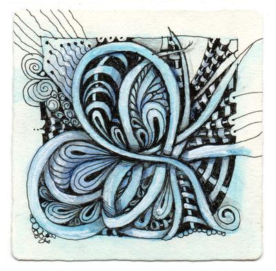 doodles - bow