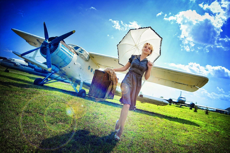 Самолет девушки работа работа для девушки в ярославле