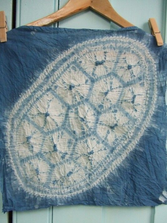 shibori turtle dye tutorial