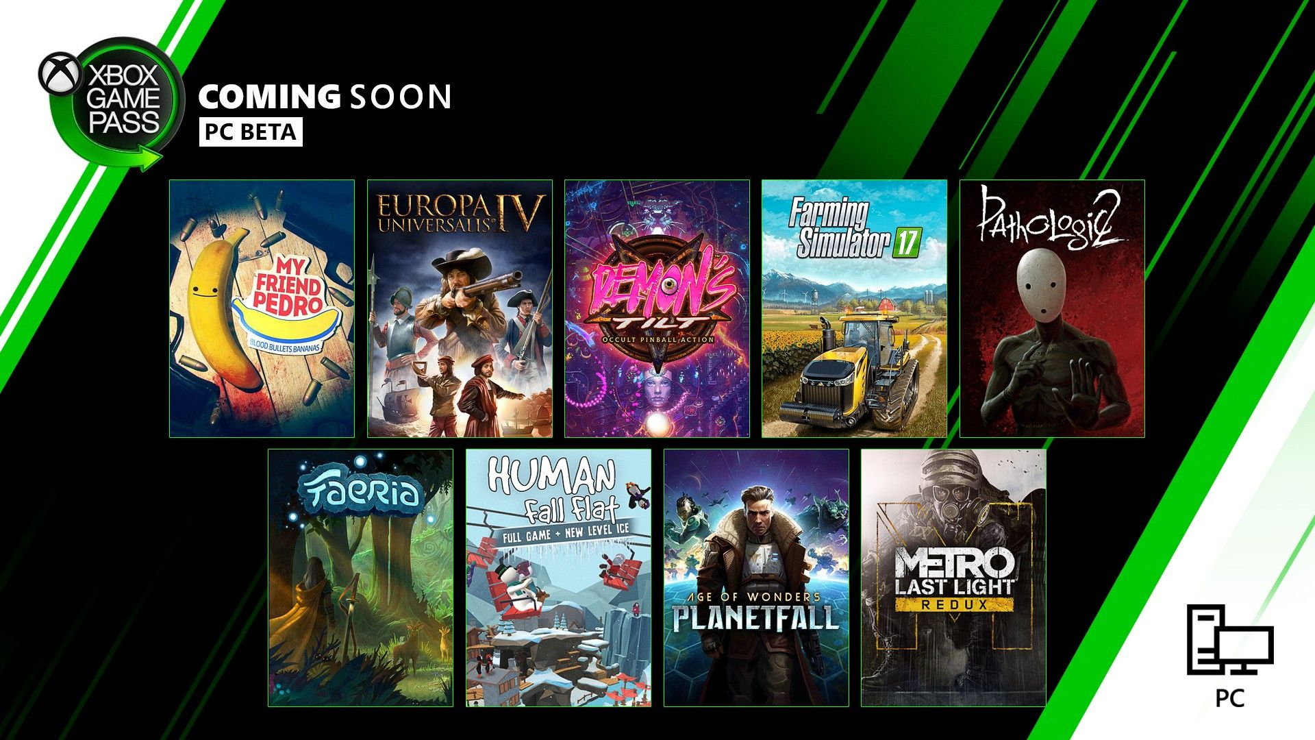 Xbox Game Pass December 2019 Lineup Revealed With Images Game