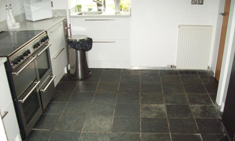 How To Clean Slate Floors Slate Flooring Cleaning Slate Floors Slate Kitchen
