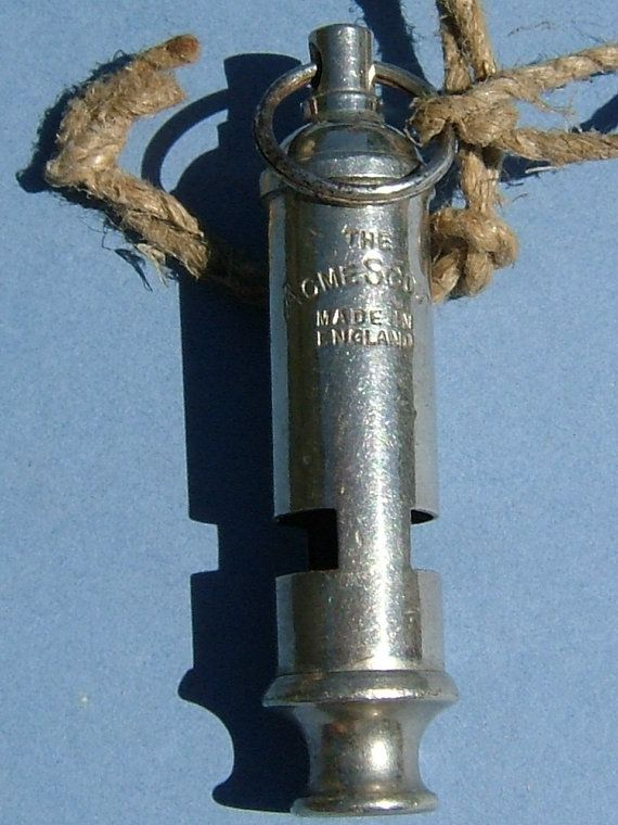 1950s The Acme Scout Whistle Made in England by BiminiCricket
