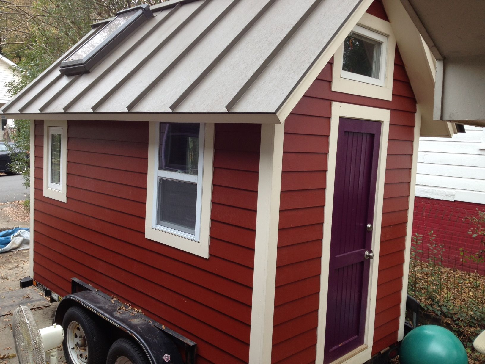 6 u2032 x 12 u2032 tiny house or office on a trailer for sale in durham rh pinterest com
