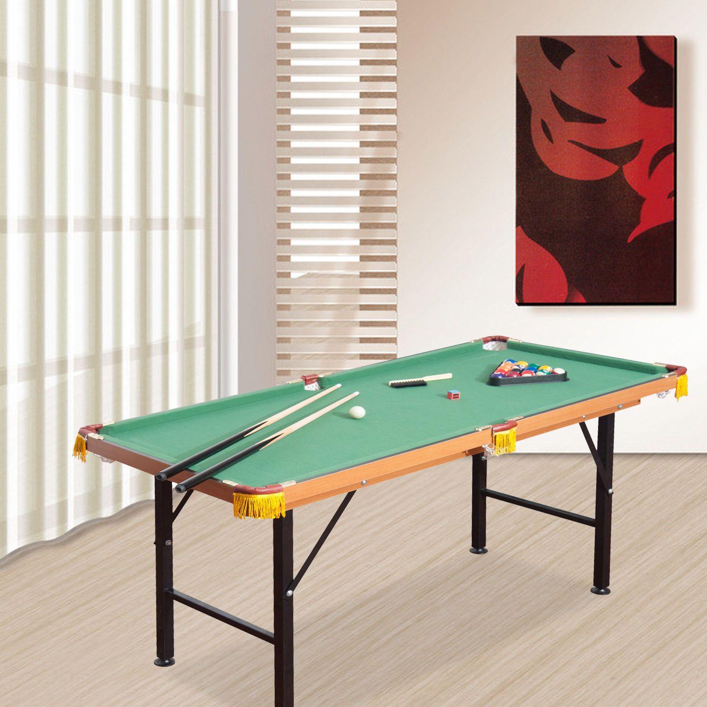 Mini Table Top Pool Table Game Billiard Board Play with
