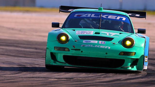 Winter is as good a time as any to test ALMS cars, particularly when you're in balmy Florida.