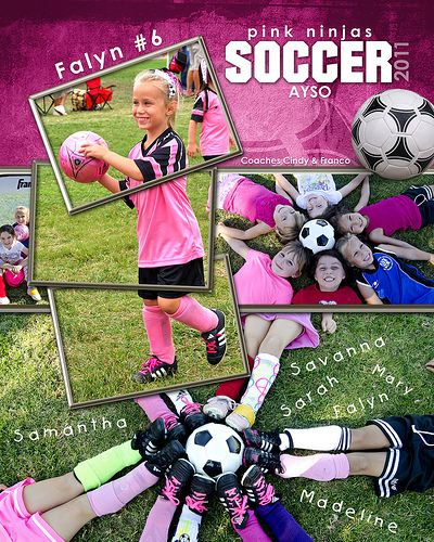 Soccer Collage : soccer, collage, Cindy's, Soccer, Collages, Photography,, Pictures,, Pictures