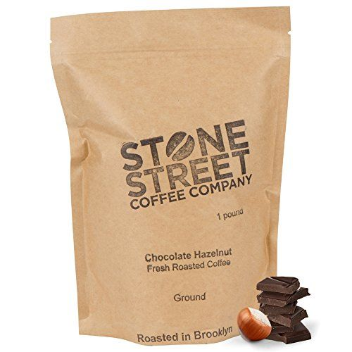Stone Street Coffee Freshly Roasted Colombian Arabica Cinnamon/Nutmeg Creamy CHOCOLATE HAZELNUTGround Coffee, 1 lb ** Details can be found by clicking on the image.