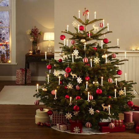 Festlich wir dekorieren den christbaum adventszeit weihnachten dekoration pinterest - Weihnachtsbaum dekorieren ...