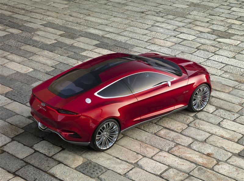2012 Ford Evos Concept Concept cars, Luxury hybrid cars
