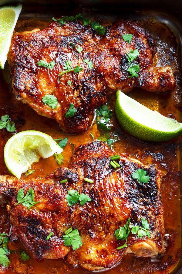 Oven Roasted Chicken Leg Quarters Recipe Chicken