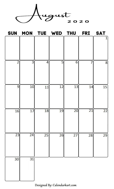 Pin on 2020 Calendars