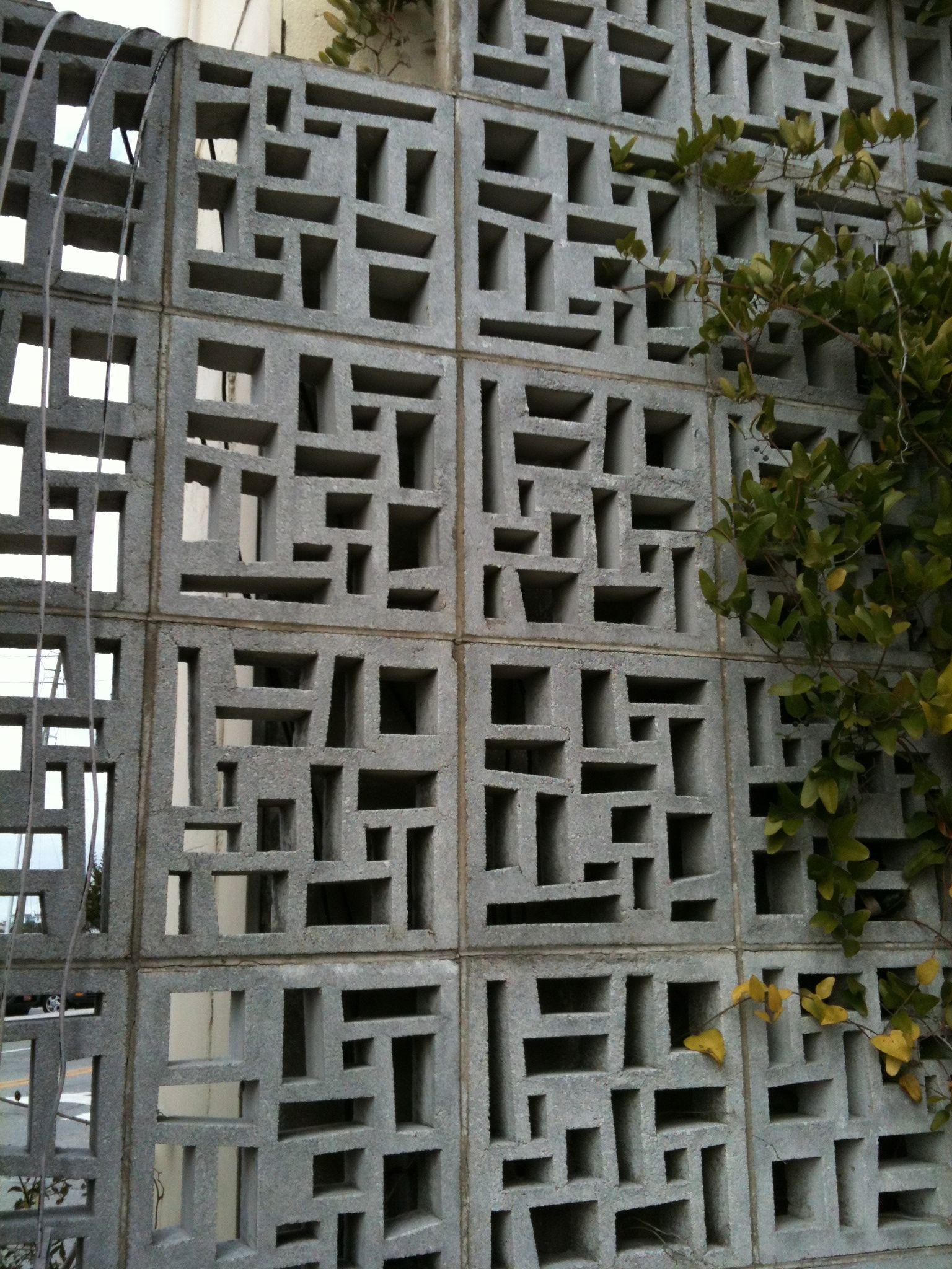 Cool Concrete Blocks Breeze Block Wall Decorative Concrete