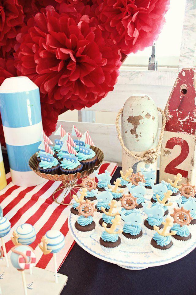 Toni Gonzaga Sorianos Nautical Themed Baby Shower Nautical Themed