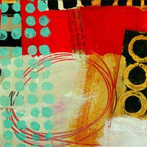 collage journeys: teeny tiny art