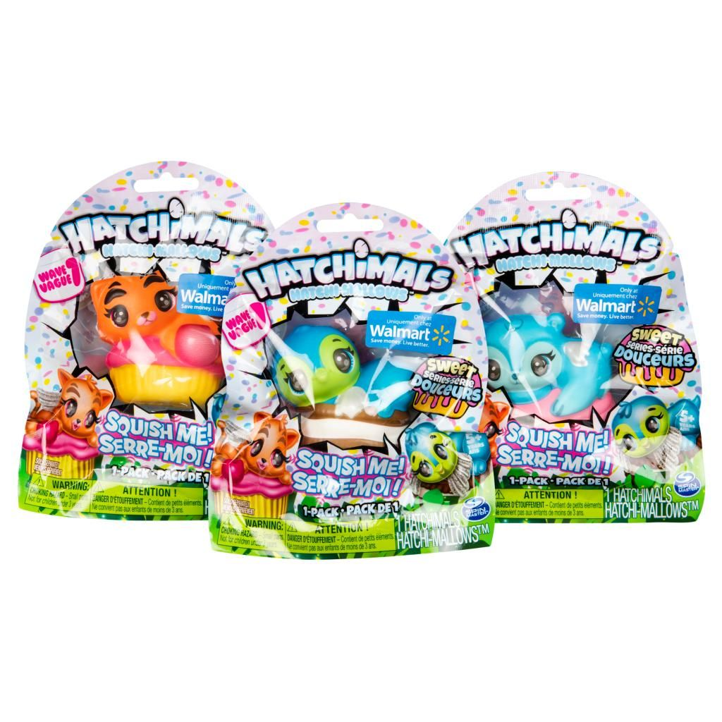 Spin Master Hatchimals Hatchimals Hatchi Mallows Soft Squishy Hatchimals Sweet Series Exclusively Available At Wal Easter Basket Toys Up Styles Hatchimals