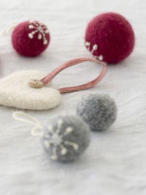 Huovutettu pallo Novita Joki | Novita knits