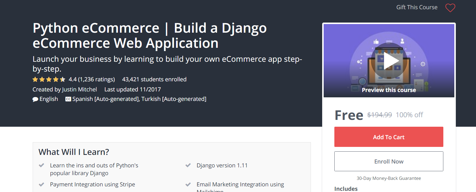 Python #eCommerce | #Build a #Django eCommerce #Web #Application Launch  your #business by #learning to build your own … | Web application, Ecommerce  app, Ecommerce