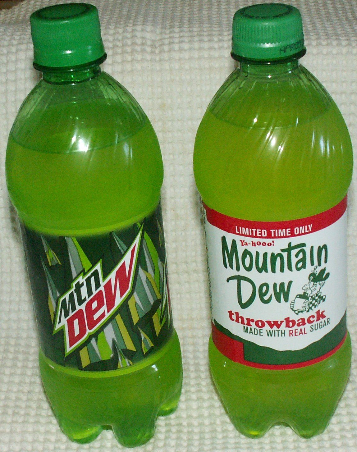 Mountain Dew Throwback Mountain Dew Food Should Taste Good Pop Bottles