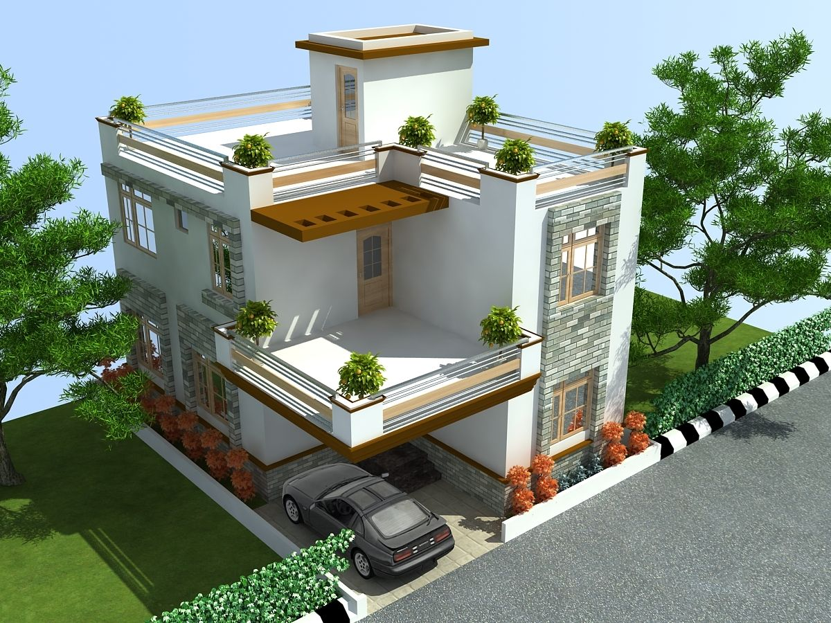 Pin Apnaghar Apanghar House Design In 2019