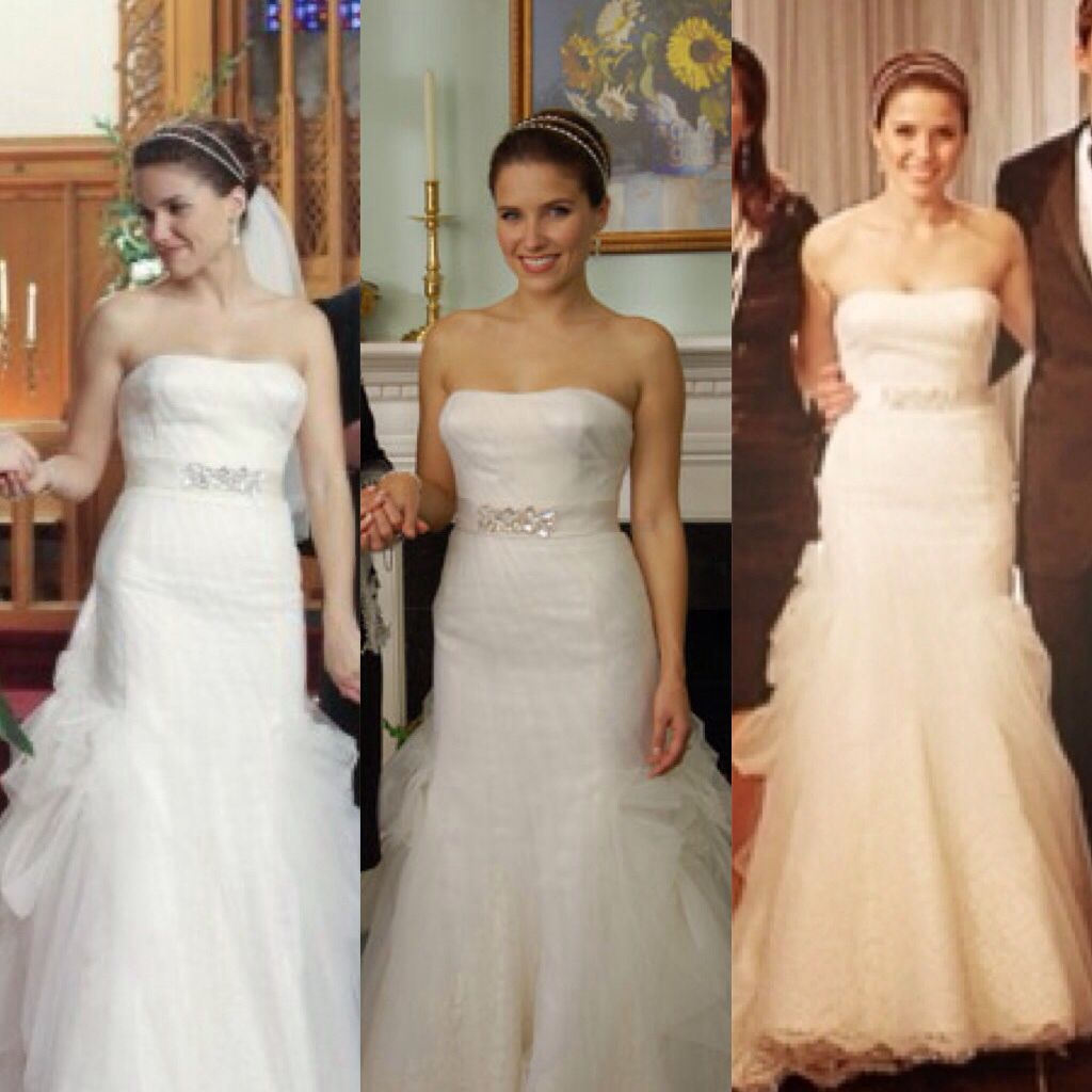 Brooke Davis Wedding Dress Is Just Perfect One Tree Hill Fan