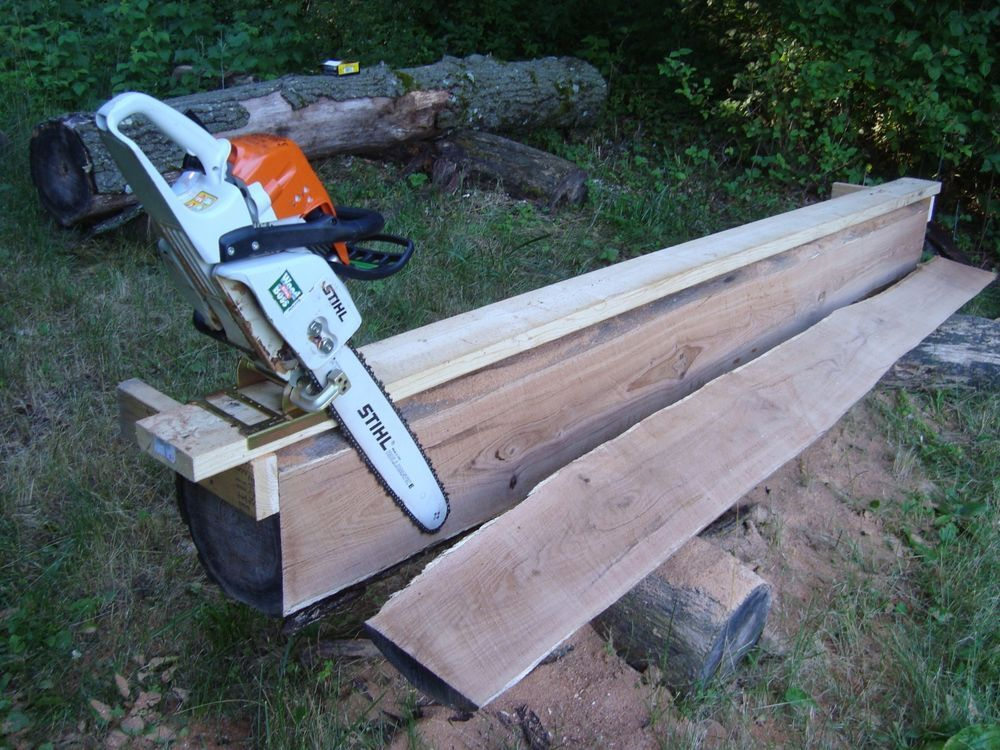 Haddon Lumbermaker chain saw mill attachment for boards