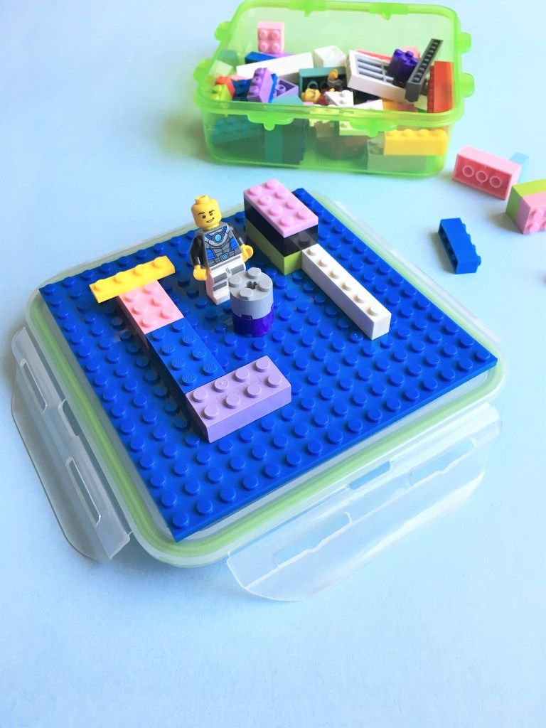 Travel LEGO Kit Awesome DIY Kids Party Favor Idea