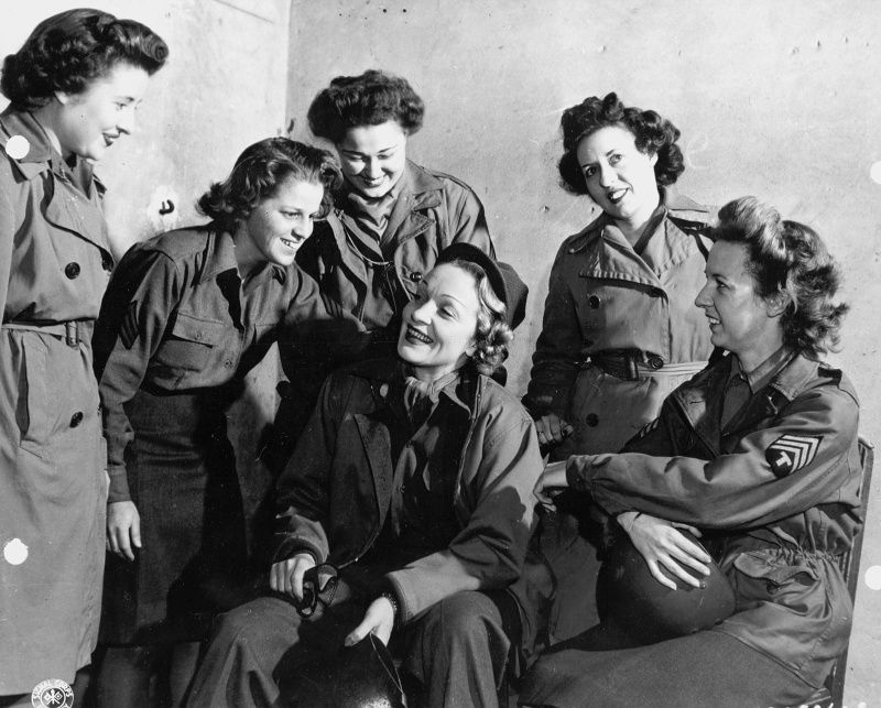 Документальное фото ВОВ 1941-1945 | WWII | Марлен дитрих ...