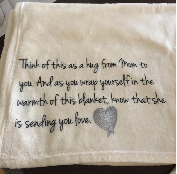 Personalized Memorial Throw Blanket For Someone Who Has