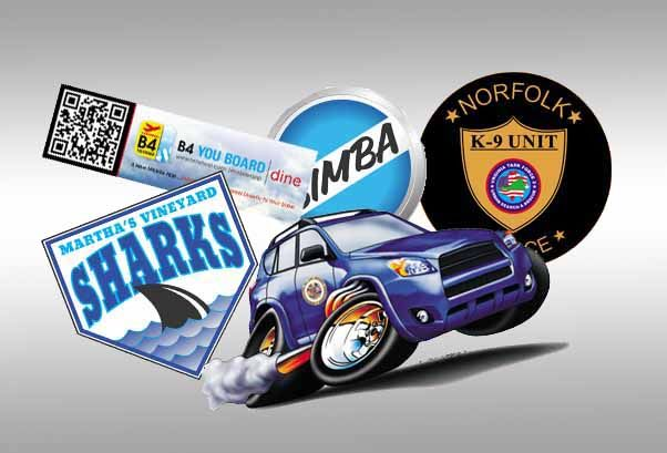 Cheap custom stickers & bumper stickers: Quality vinyl, bulk prices
