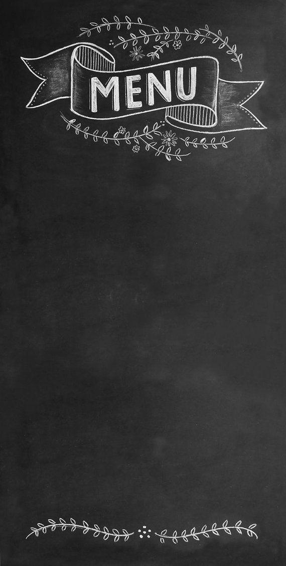Wedding Chalkboard Sign Large Chic Menu Message Board 6