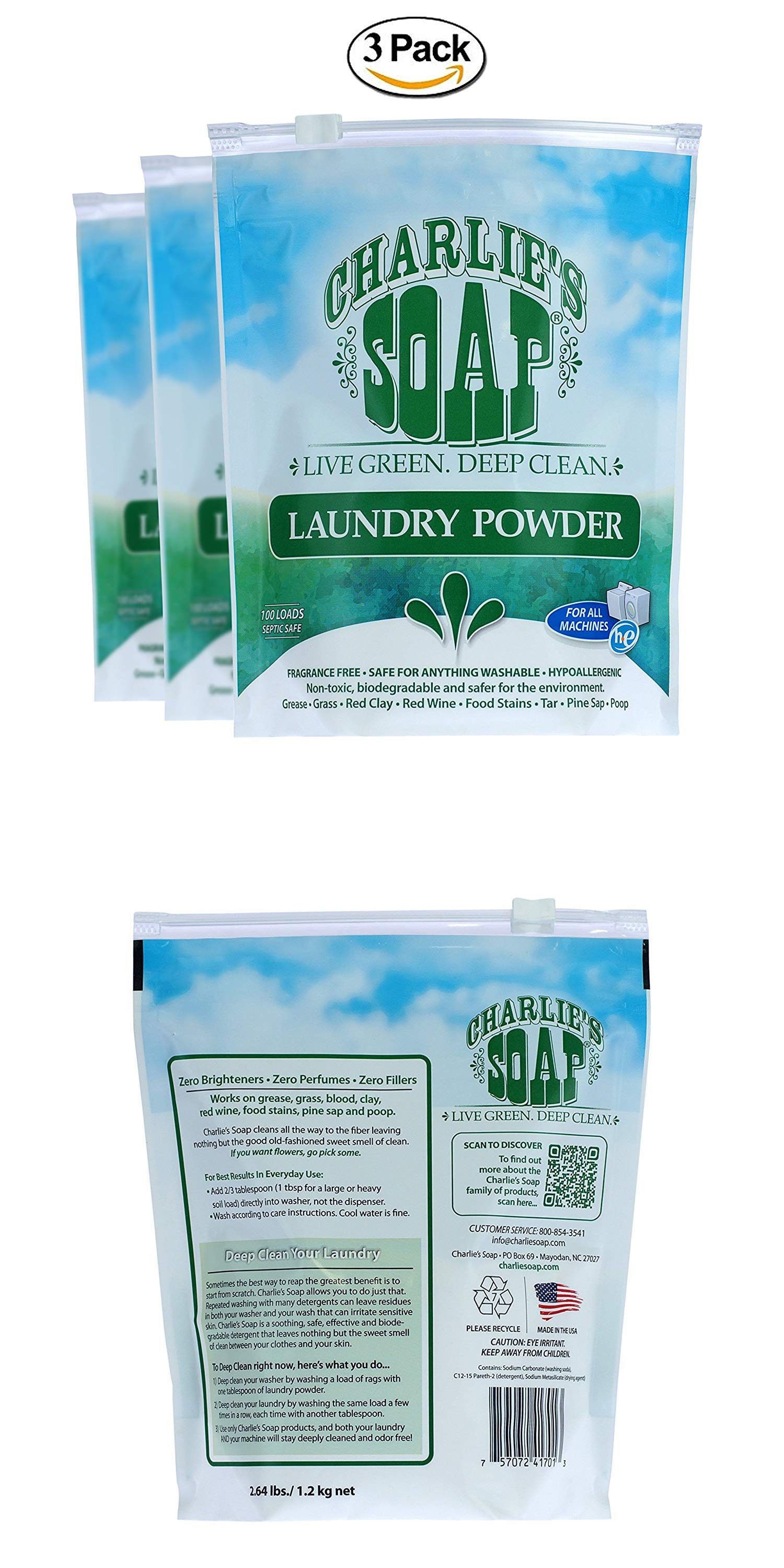 Detergents 78691 300 Loads Charlie S Soap Laundry Powder For