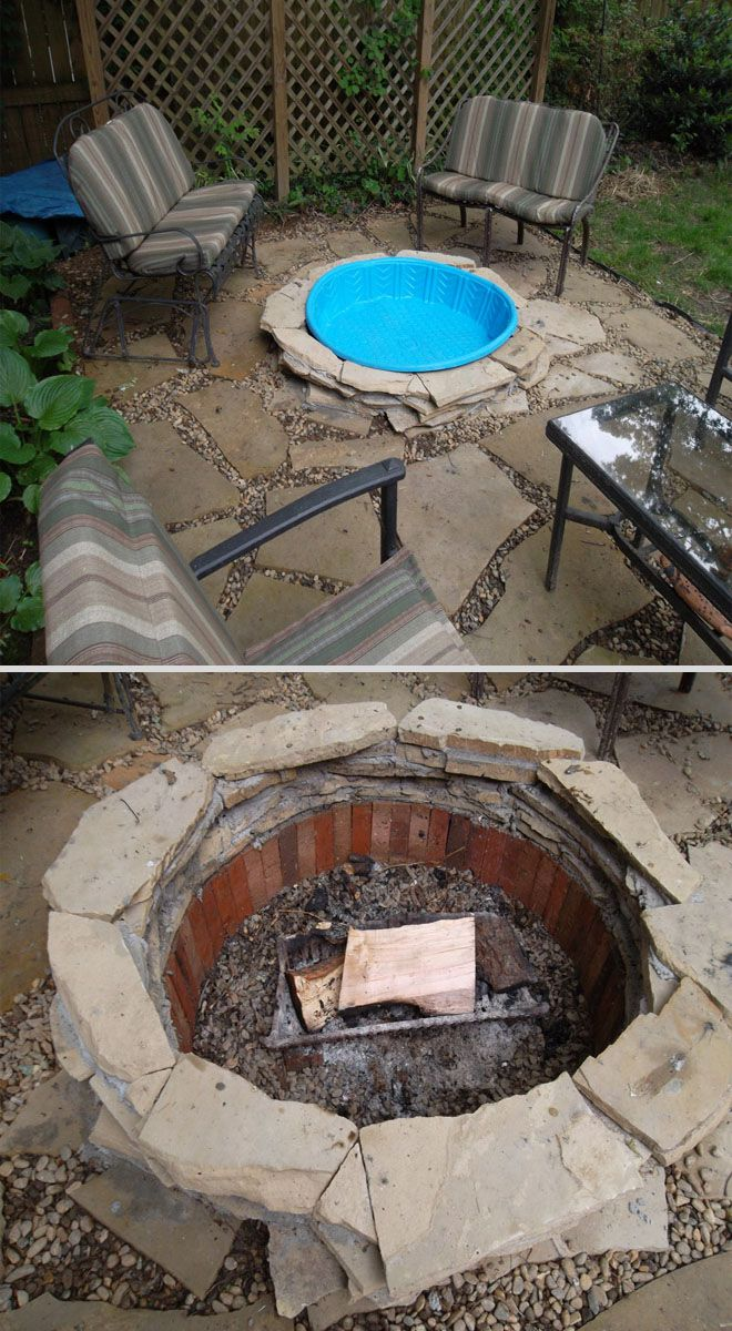 Need To Keep Water Out Of Your Fire Pit Amp Into Your Dogs 2 Kiddie Pool Insert Measures 40 Quot For