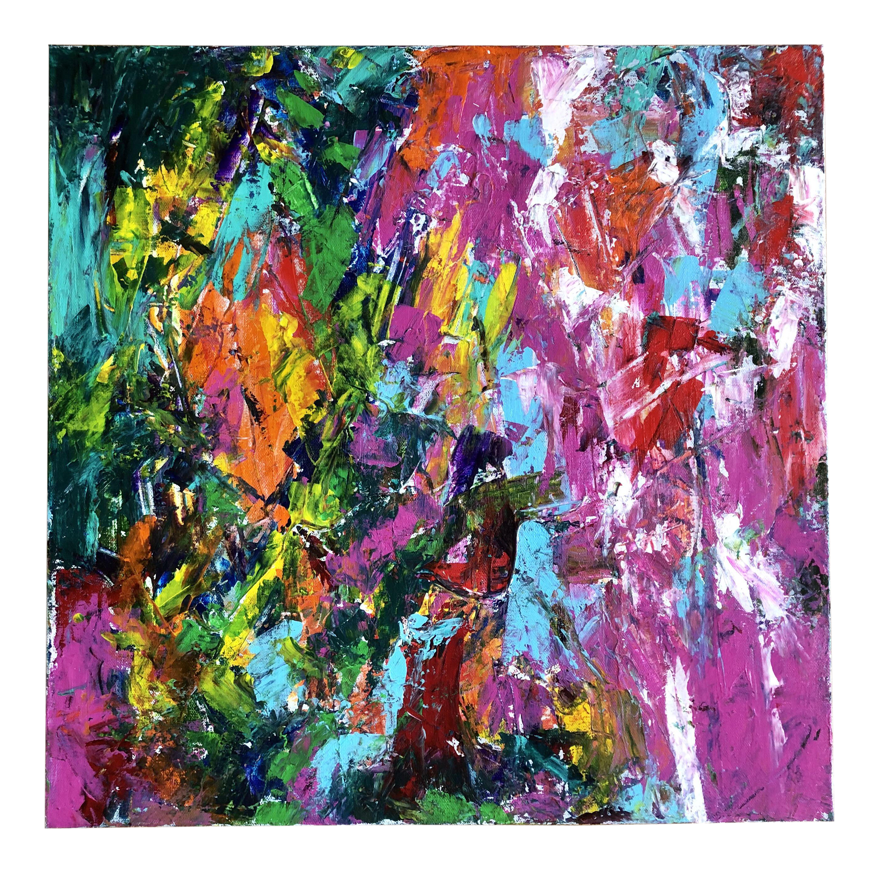 Nancy Smith Hoopla Original Abstract Acrylic Painting On Chairish Com Abstract Painting Art Orig Oil Painting Abstract Painting Abstract Painting Acrylic