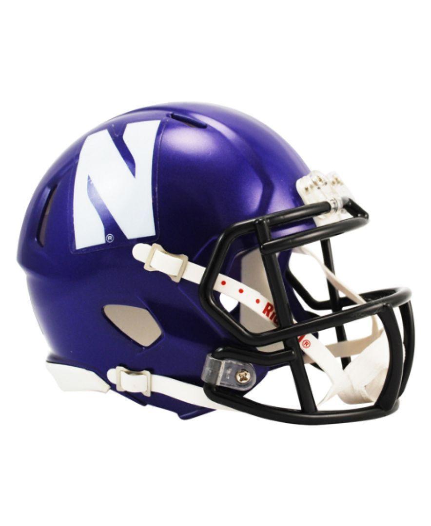 Northwestern Wildcats Speed Mini Helmet Football helmets