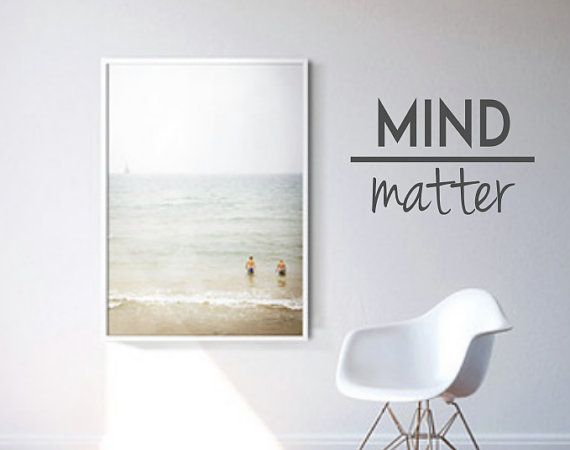MIND Over MATTER (New) Wall Decal   Quote   Motivational Wall Decal   Home