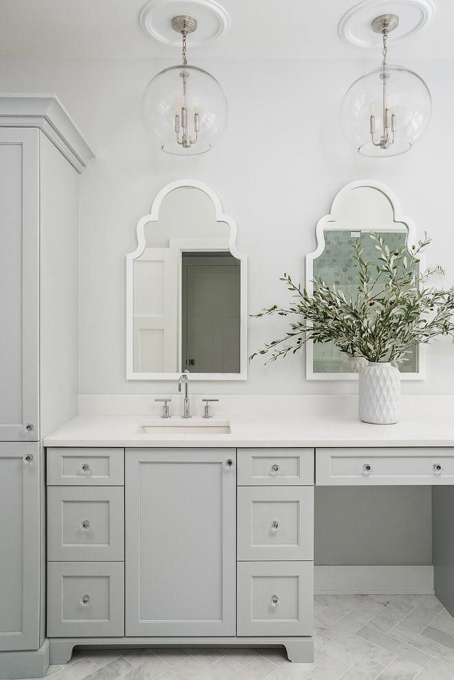 Cabinet Grayscreen By Sherwin Williams Bathroomcabinet Bathroom Cabinet In 2019 Painting Bathroom Cabinets Bathroom Grey Bathroom Cabinets