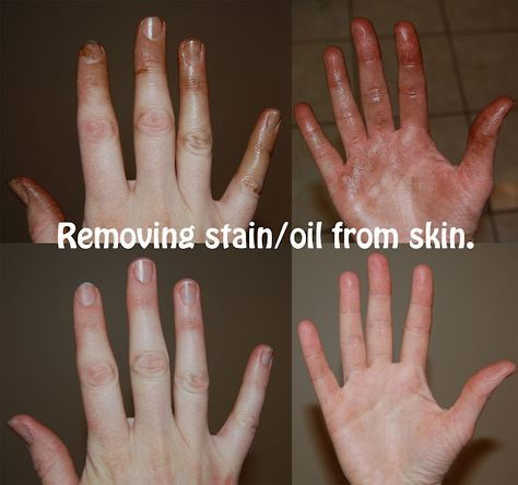 How To Remove Stain Oil Grease Primer Anything Oil Based