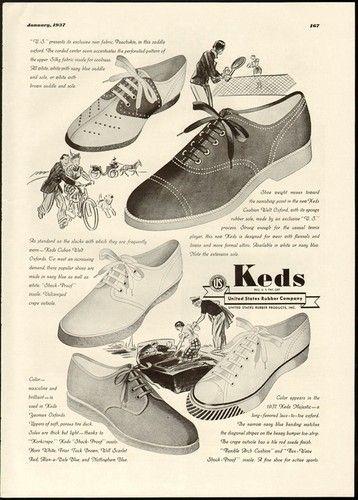 cc262f87f8346c 1937 Keds Shoes ad.   Shoe history   Shoes, Keds shoes, Keds
