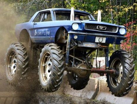 Mud Digger Biggie Monster Trucks Pinterest Cars And Ford
