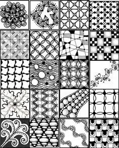 Zentangle Patterns Pdf Google Search Zentangle Patterns