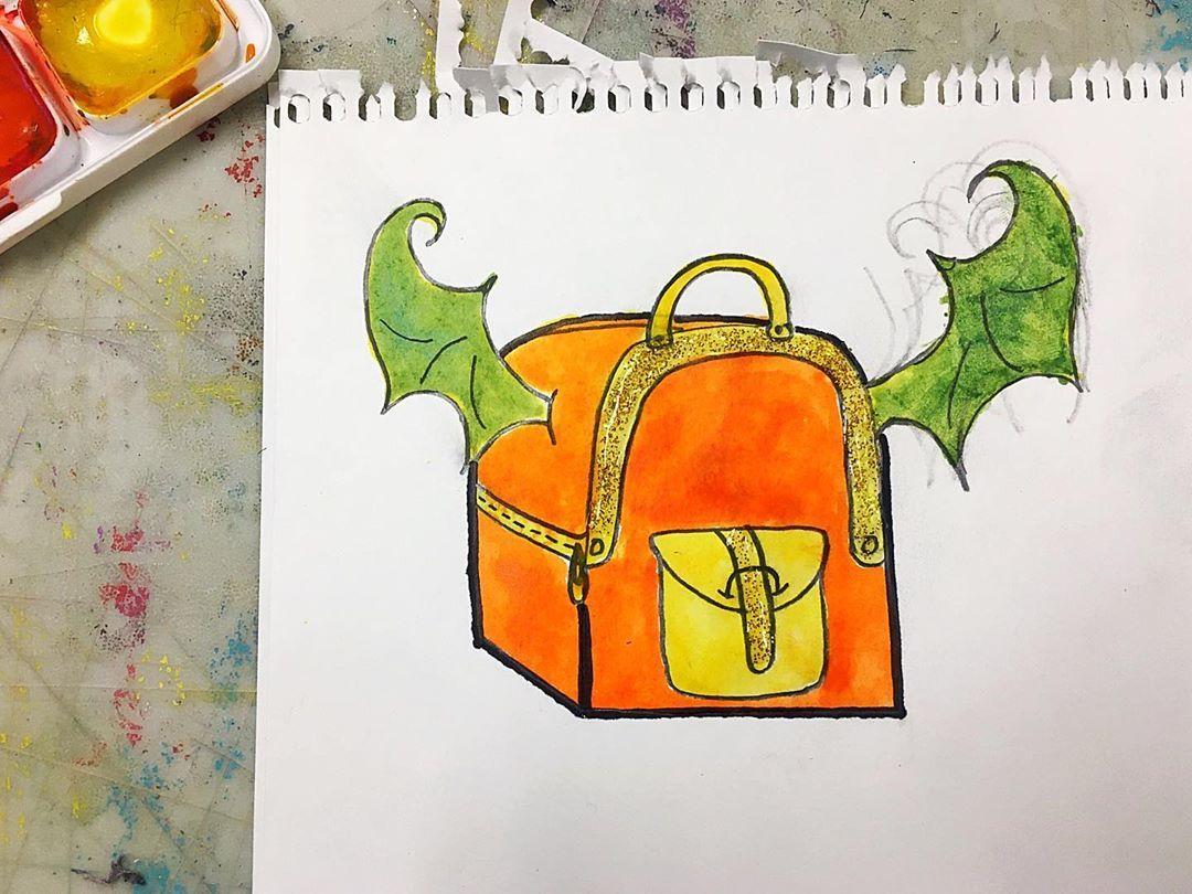 #marchofthedragons #kawaiibackpack #doodling #doodleart #doodlingart #adoodleaday #doodleaday #adoodleaday2020...#marchofthedragons #kawaiibackpack #doodling #doodleart #doodlingart #adoodleaday #doodleaday #adoodleaday2020 #doodleaday2020 #doodlesketch #sketchdoodle #sketchaday2020 #sketchbookart #drawinganimals #animalart #backpackart #backpackdrawing 🐉 Dragon wings backpack 👑 #pencildrawing #pencilart #adrawingaday #adrawingaday2020 #watercolorart #watercolordrawing #watercolorfashionillust