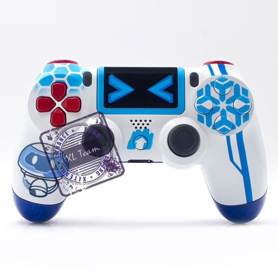 Custom Playstation 4 Ps4 Dualshock 4 Controller Overwatch Mei Etsy Overwatch Mei Overwatch Ps4 Overwatch