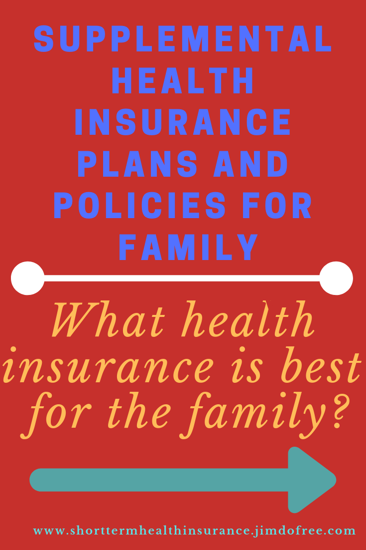 Supplemental health insurance Plans and policies for