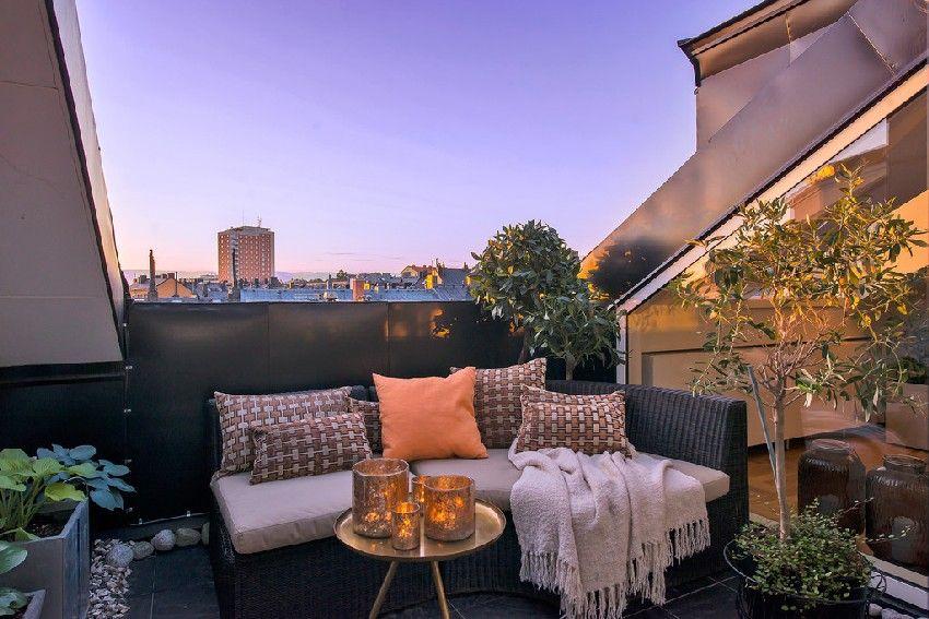 Fresh Scandinavian Attic Apartment With Two Sunny Terraces   Freshome.com