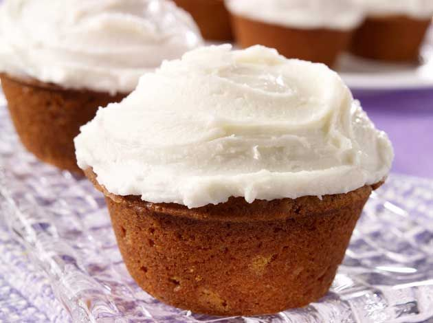 Did you know Silk® has a ton of recipes, like this Pumpkin Spice Cupcakes?