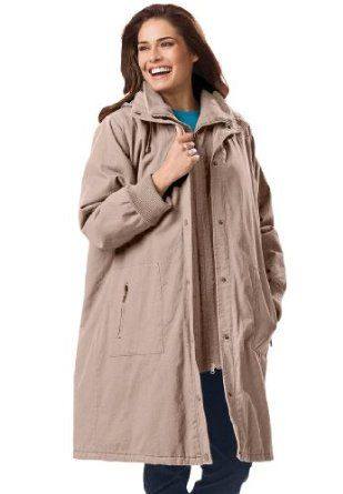 5b861137436 Woman Within Plus Size Jacket