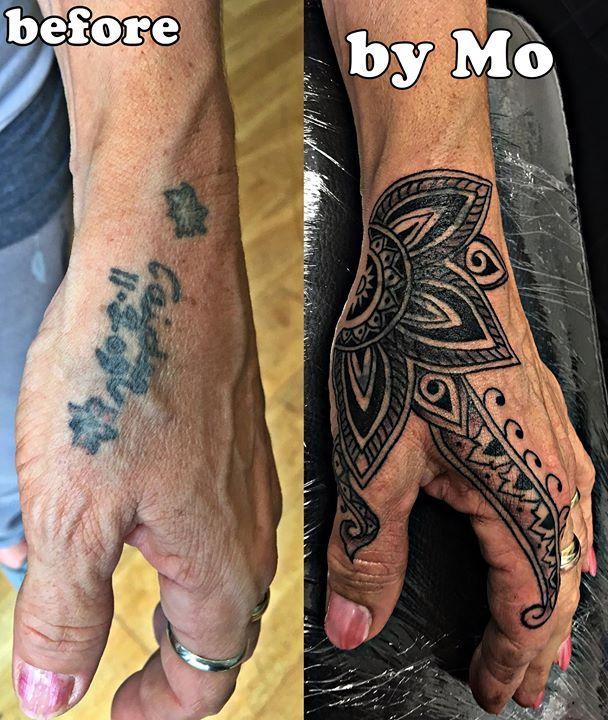 Hand Mandala Cover Up Mandala Flower Coverup Hand Tattoo Hand Tattoo Cover Up Hand Tattoos Cover Tattoo