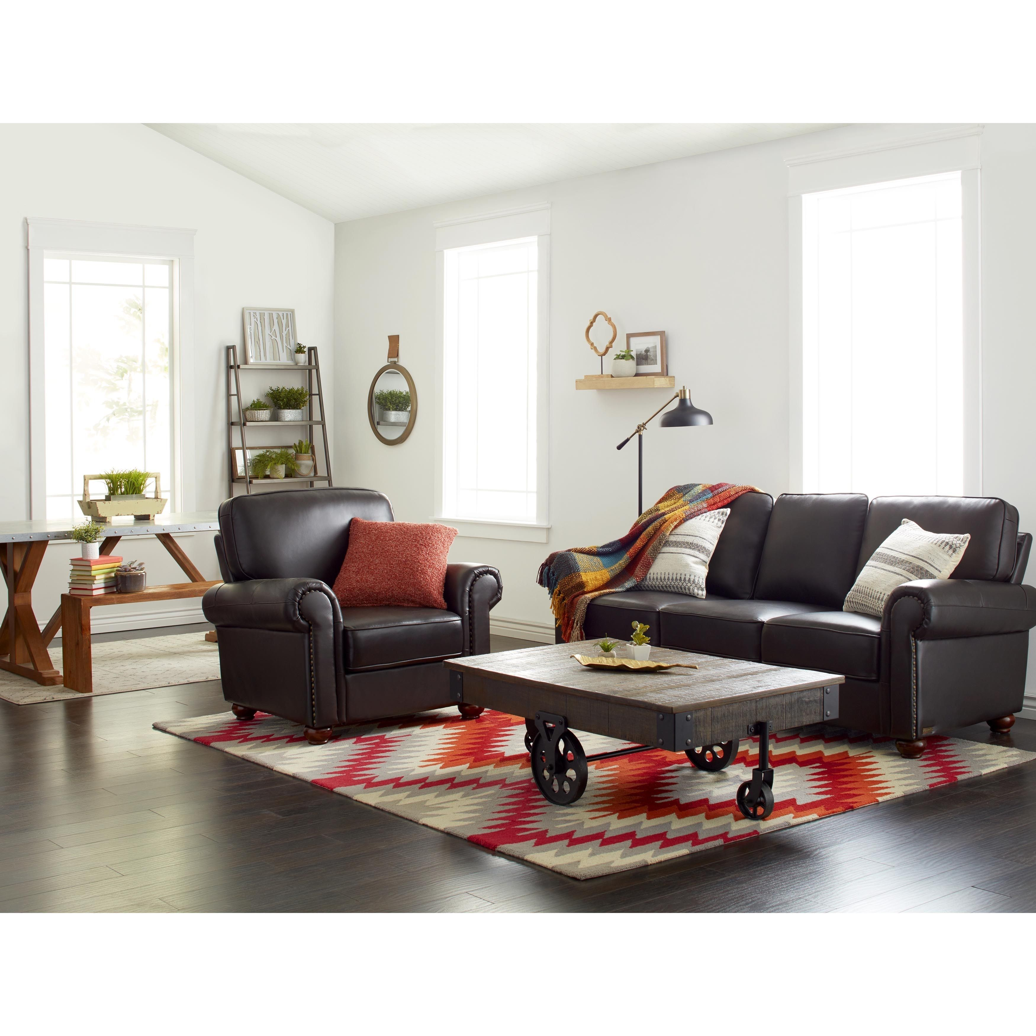 Leather Loveseats Home Goods: Free Shipping on orders over $45 at ...