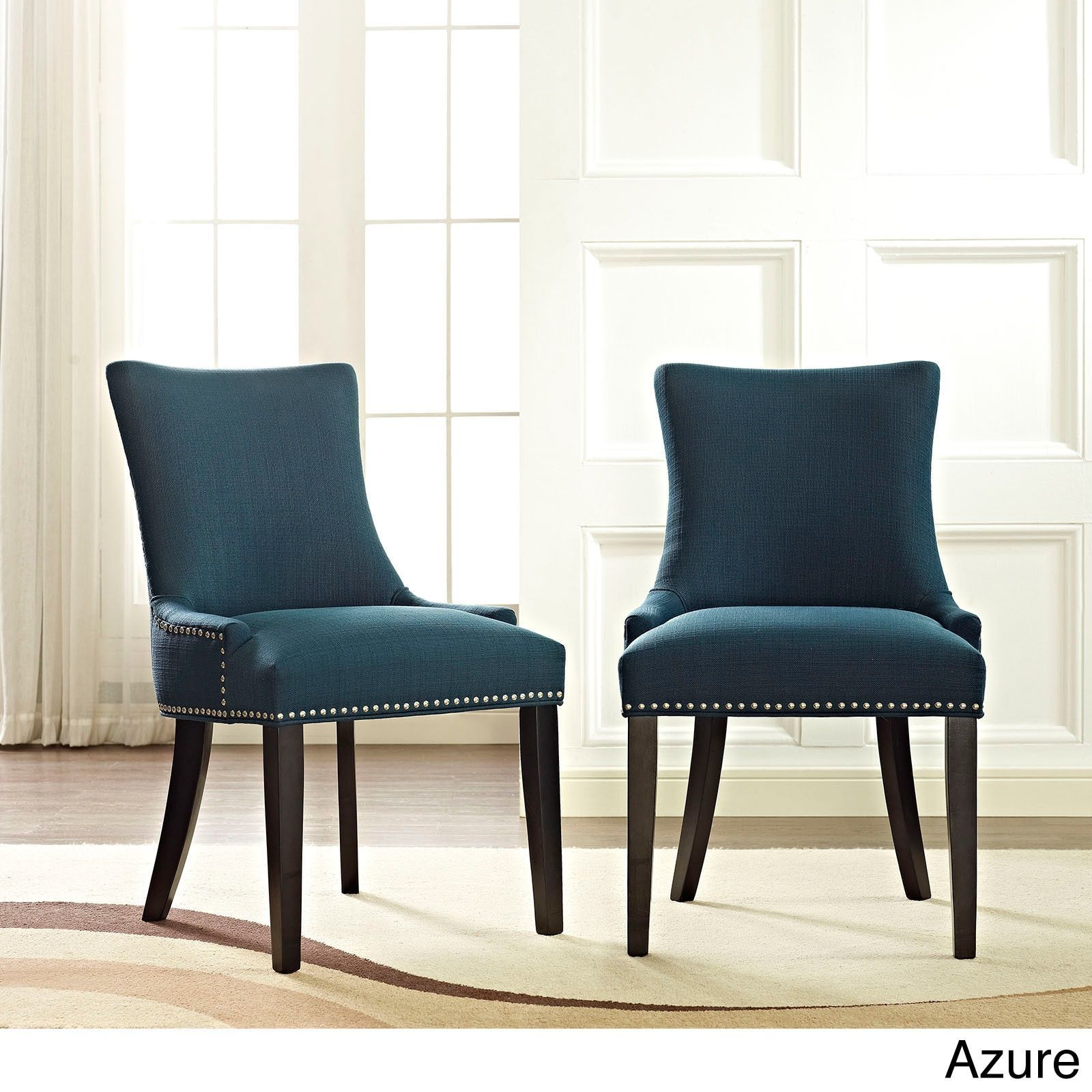 Modway Marquis Fabric Upholstered Dining Chair (Single ...