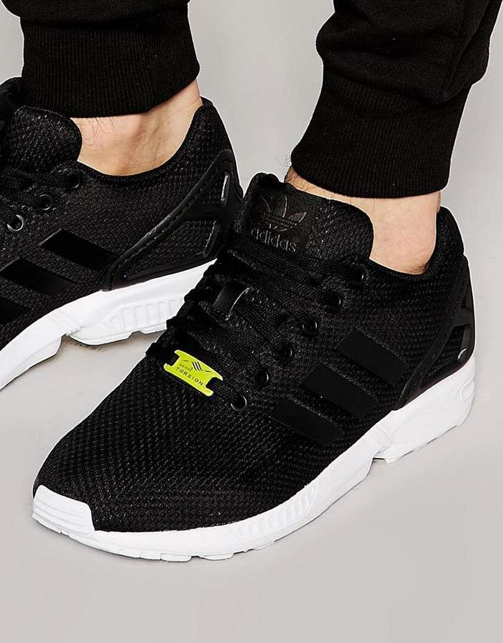 b3e783c2b9f6c adidas ZX Flux Sneakers In Black M19840